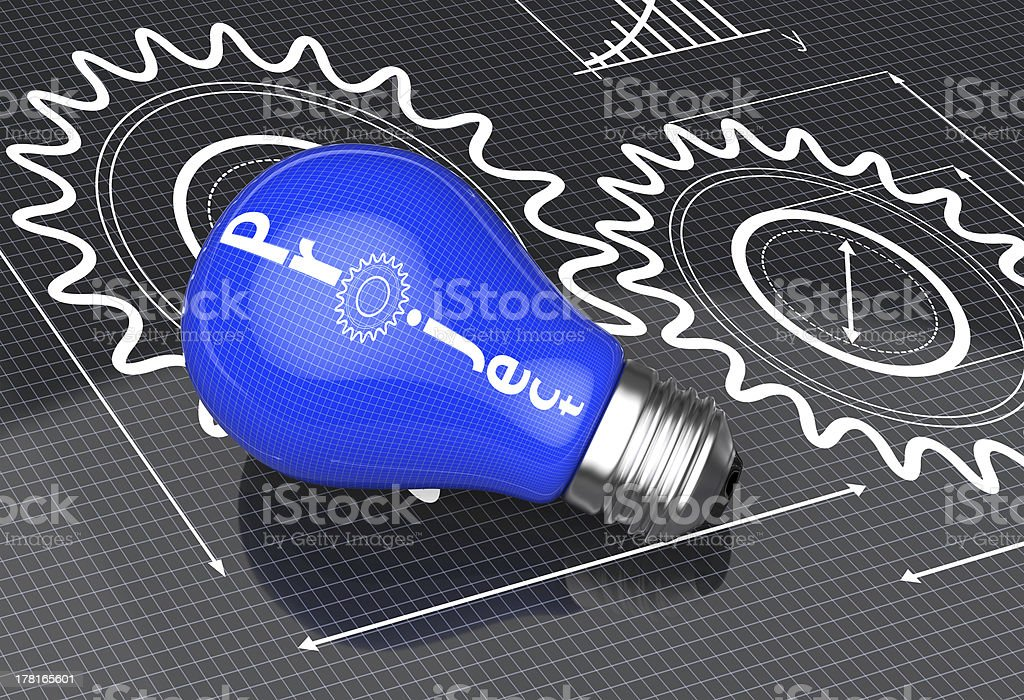 Project as an idea royalty-free stock photo