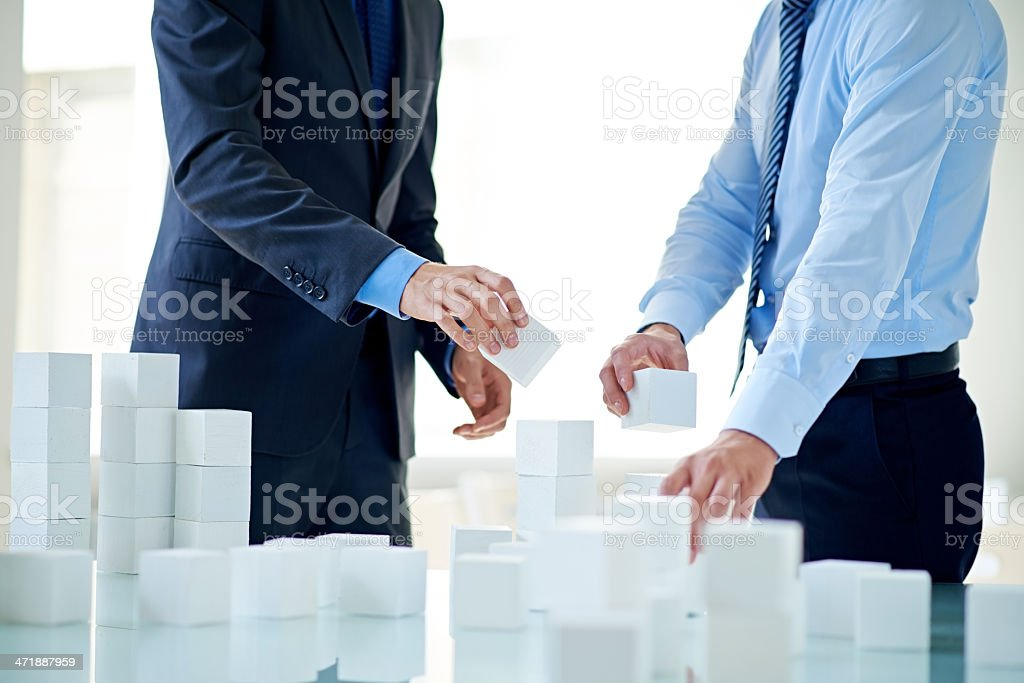 Project initiation royalty-free stock photo
