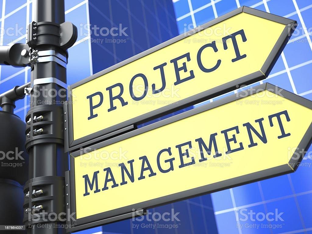 Project Management. Business Concept. stock photo