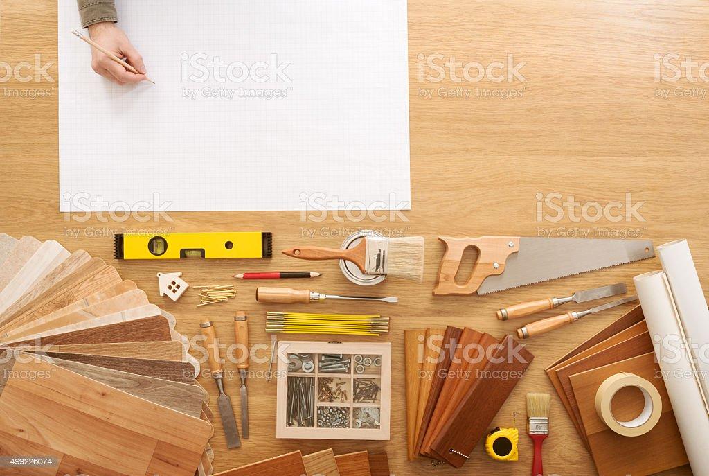 DIY project stock photo