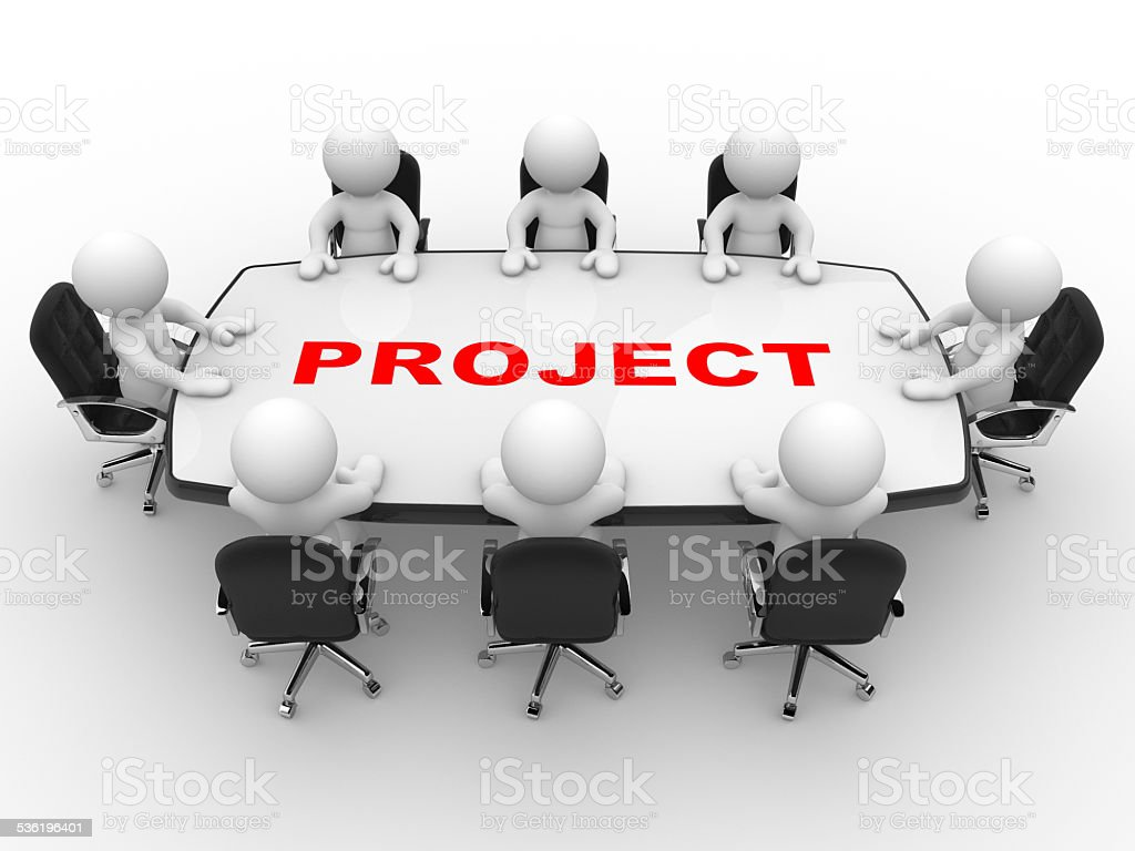 Project stock photo
