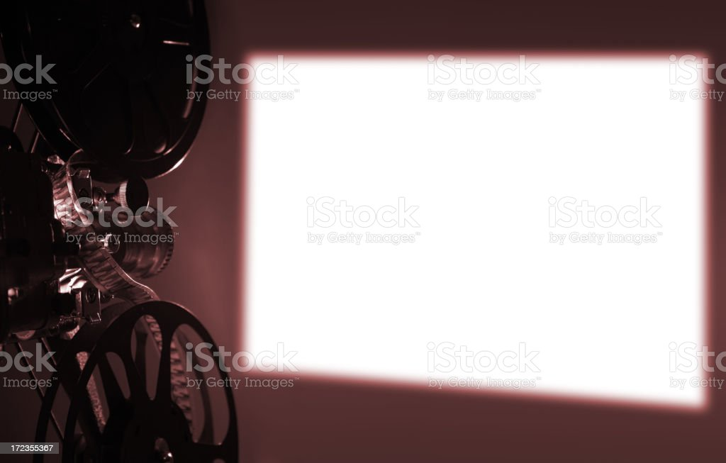 Projection stock photo