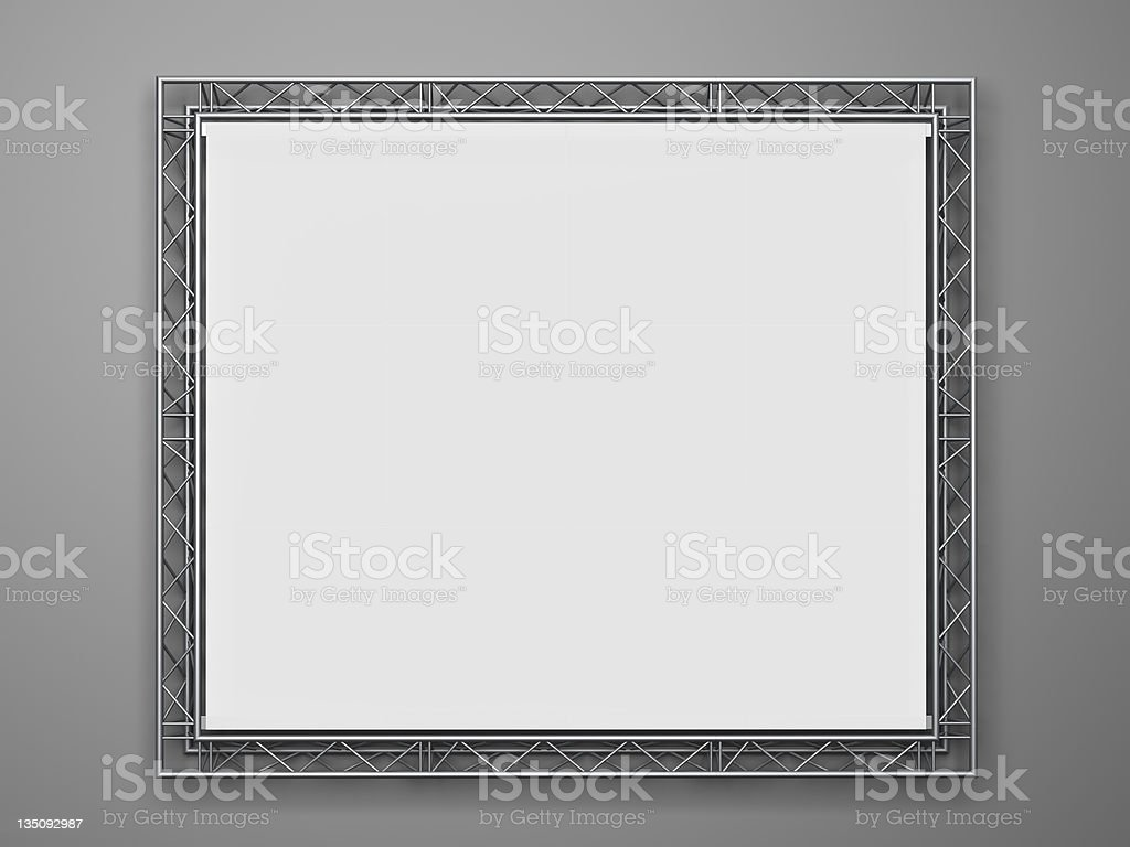 projection screen royalty-free stock photo
