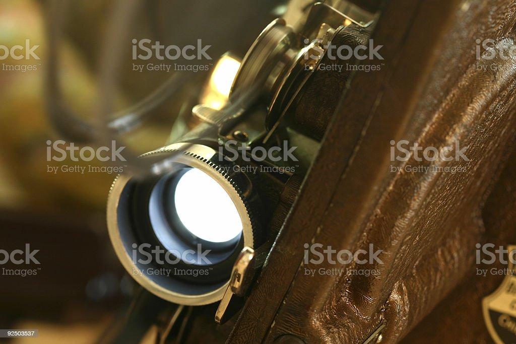 Projector closeup royalty-free stock photo