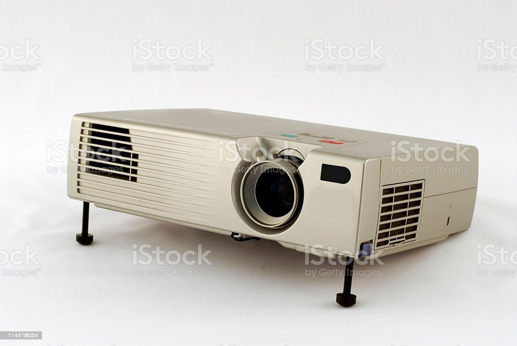 LCD Projector II stock photo
