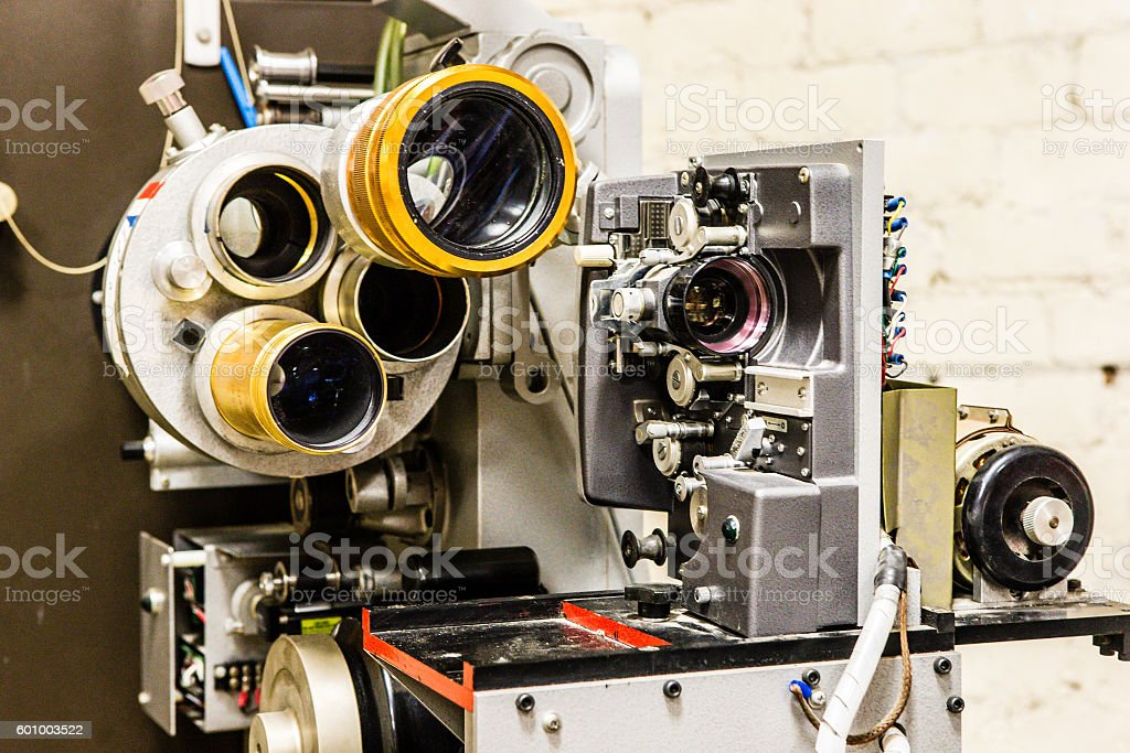 Projector Lens stock photo