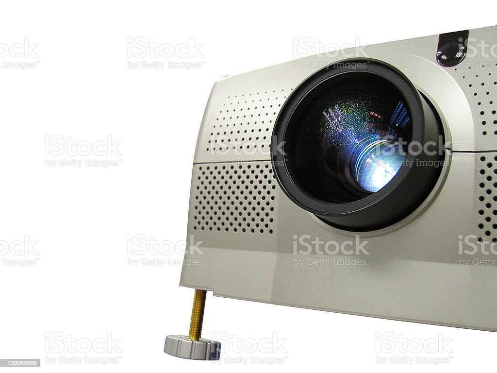 projector ( side view ) royalty-free stock photo