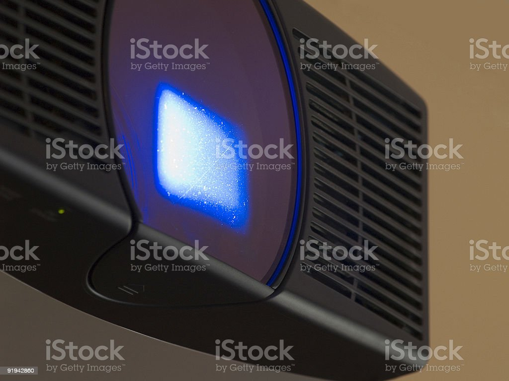 HD LCD Projector royalty-free stock photo