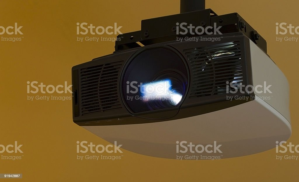 HD LCD Projector stock photo