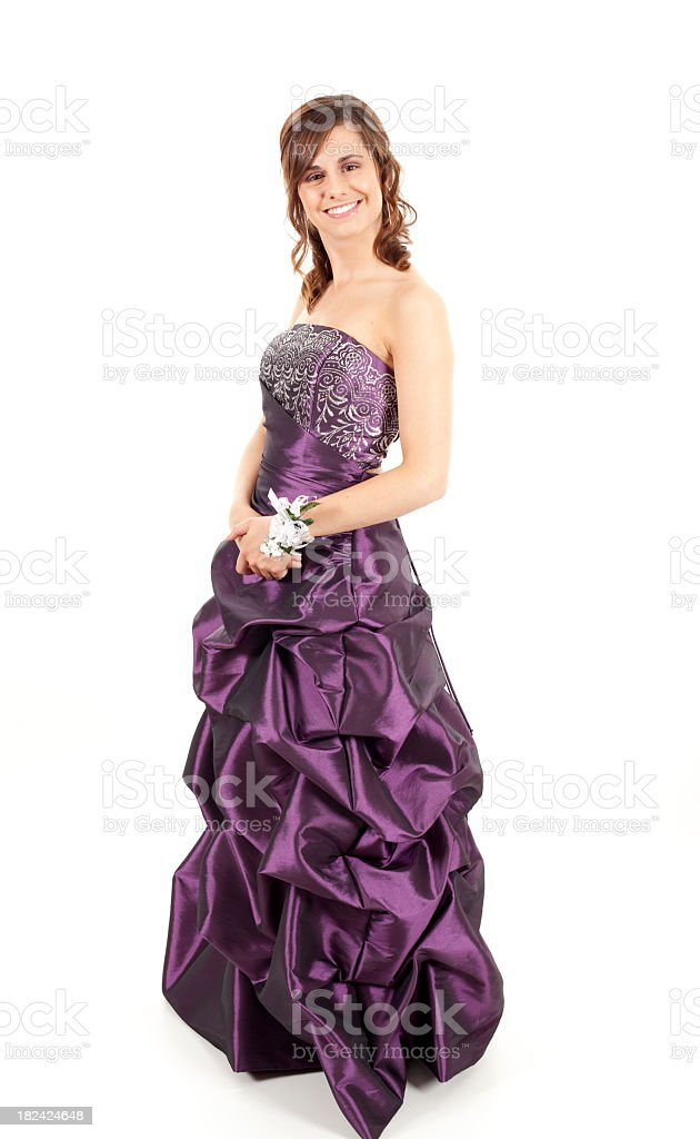 Prom date royalty-free stock photo