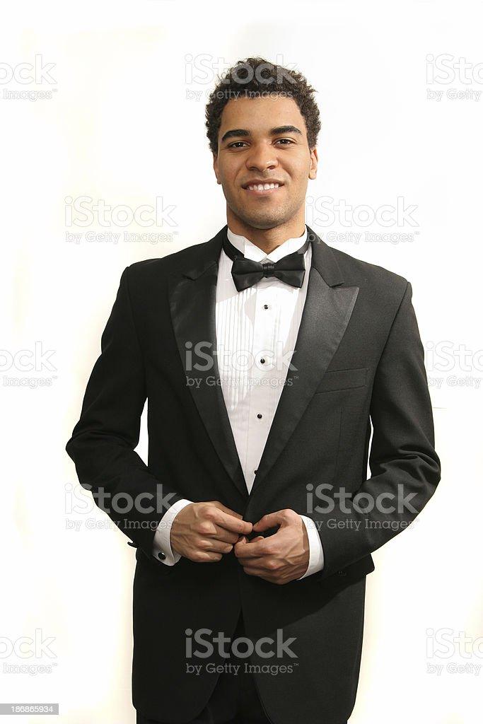 Prom date stock photo