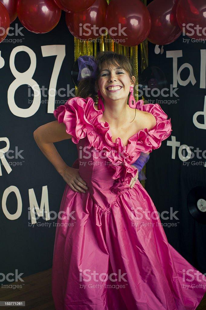 Prom Queen stock photo
