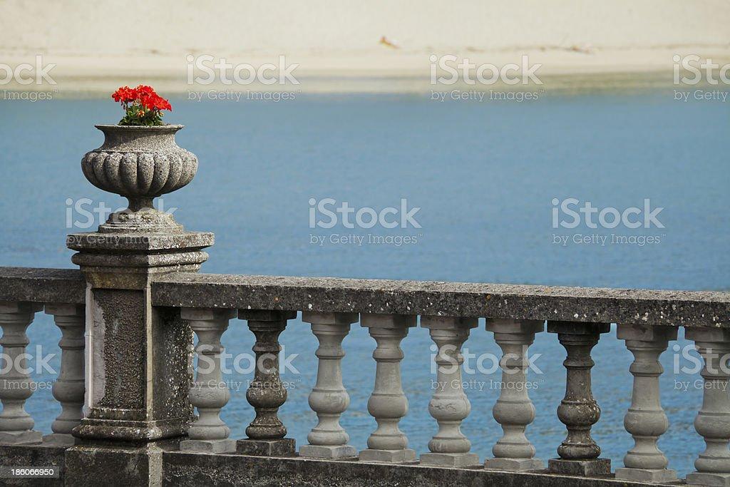 Promenade by the sea royalty-free stock photo