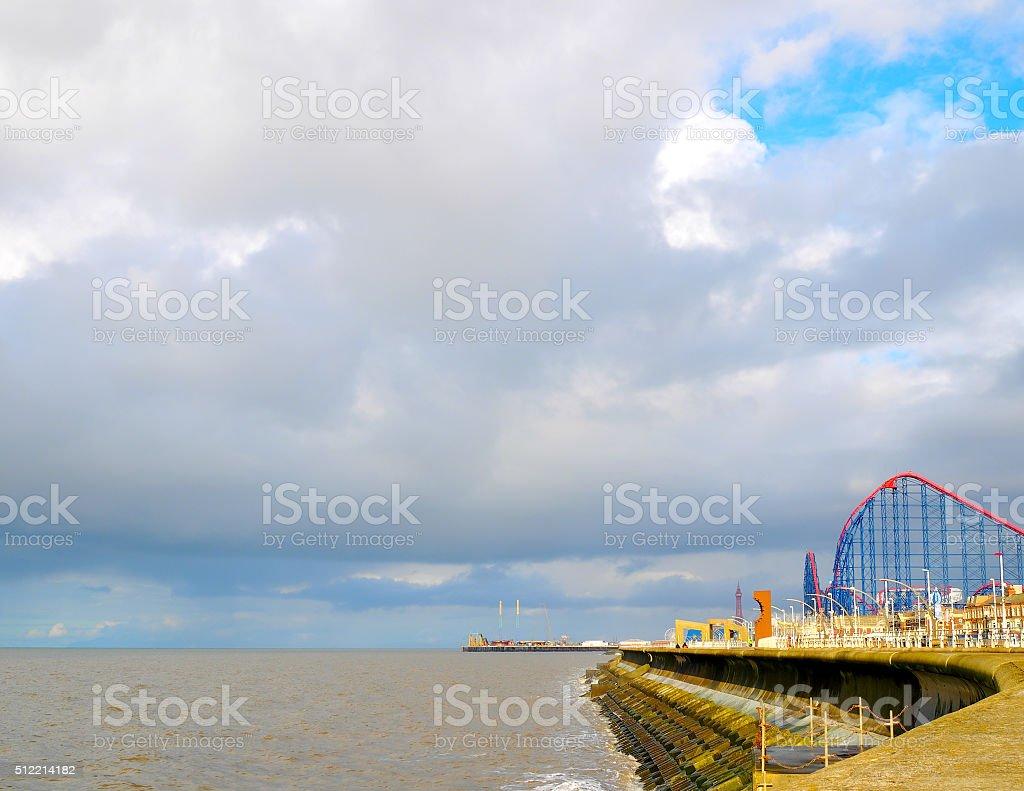 promenade stock photo