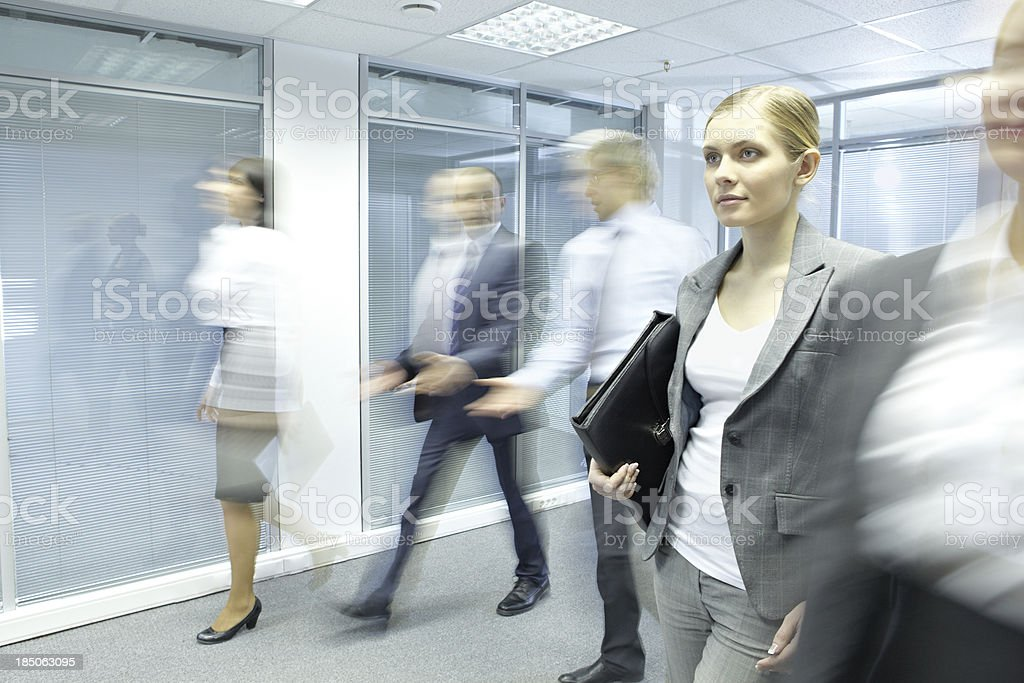 Prominent worker royalty-free stock photo