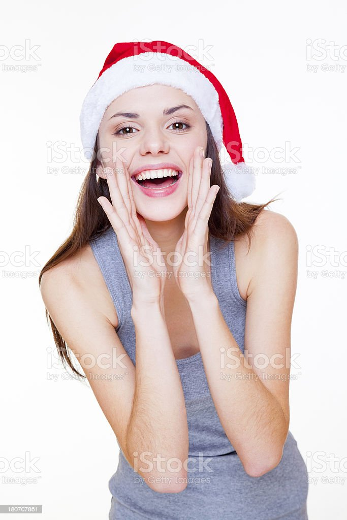 Promoting your Christmas message royalty-free stock photo
