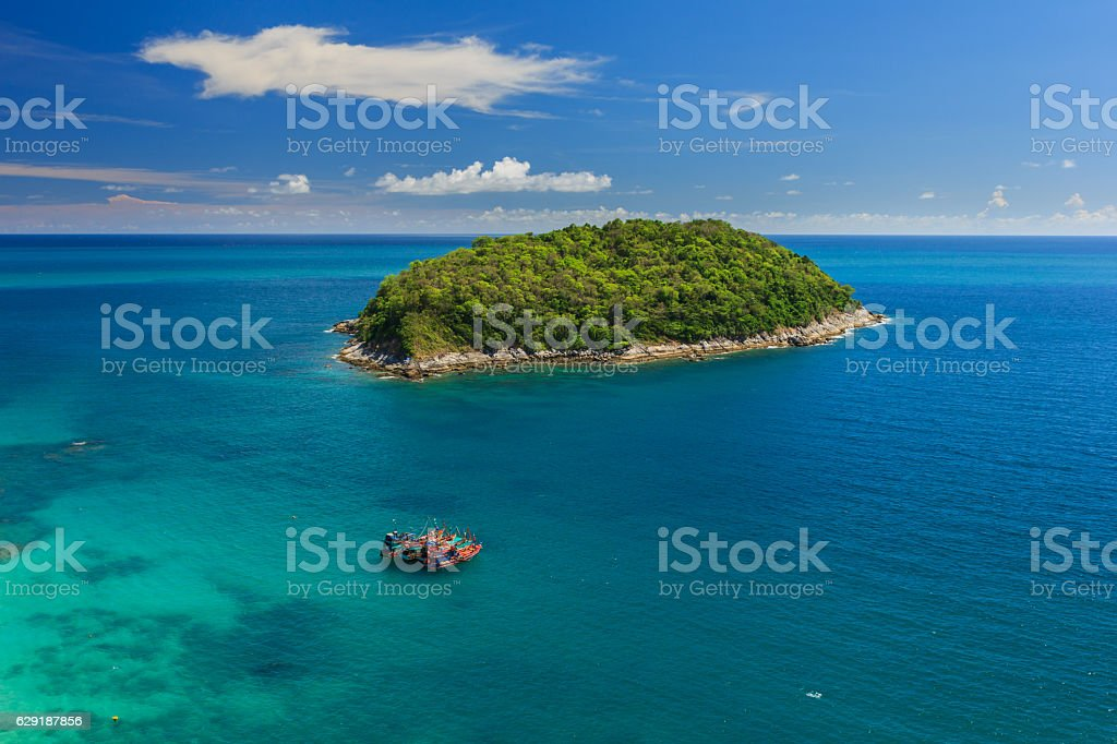 promthep cape view point phuket thailand stock photo