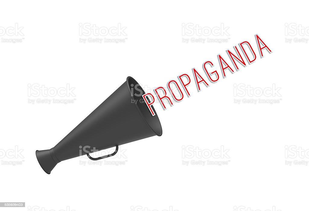 Propaganda stock photo