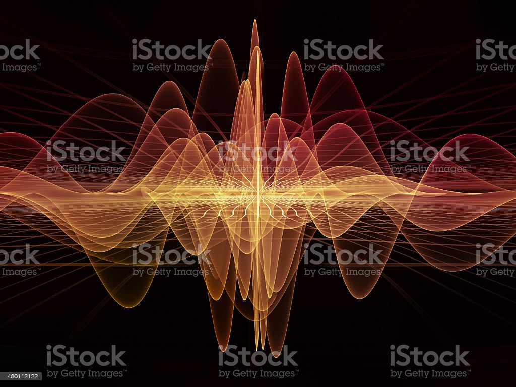 Propagation of Light Waves stock photo