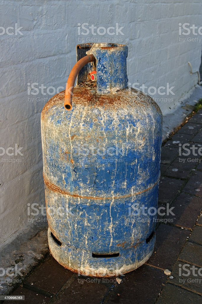 Propane Cylinder royalty-free stock photo