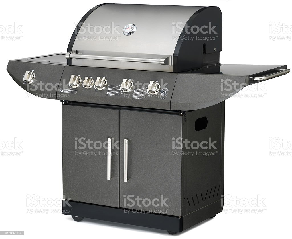 Propane Gas Barbecue Grill royalty-free stock photo