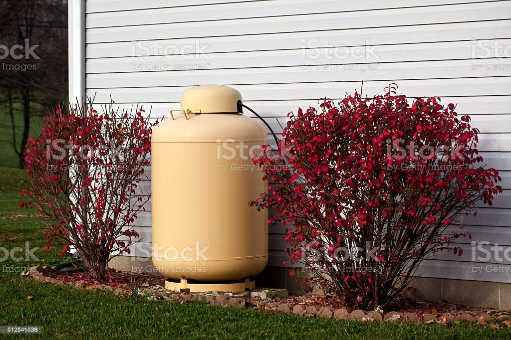 Propane Tank stock photo