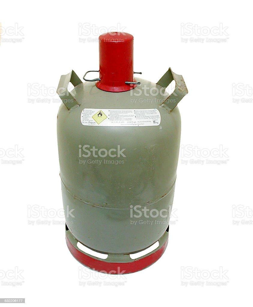 Propangasflasche (Eigentumflasche) stock photo