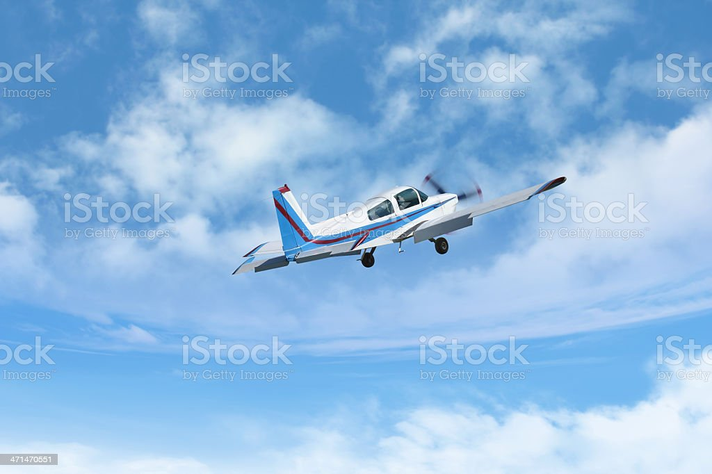 Propeller Aircraft stock photo