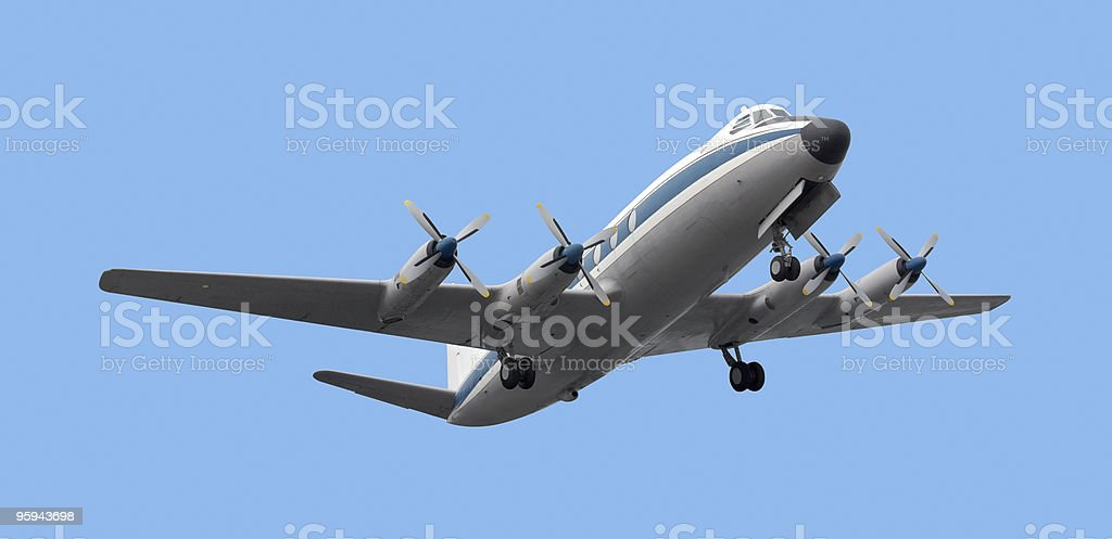 propeller aircraft royalty-free stock photo