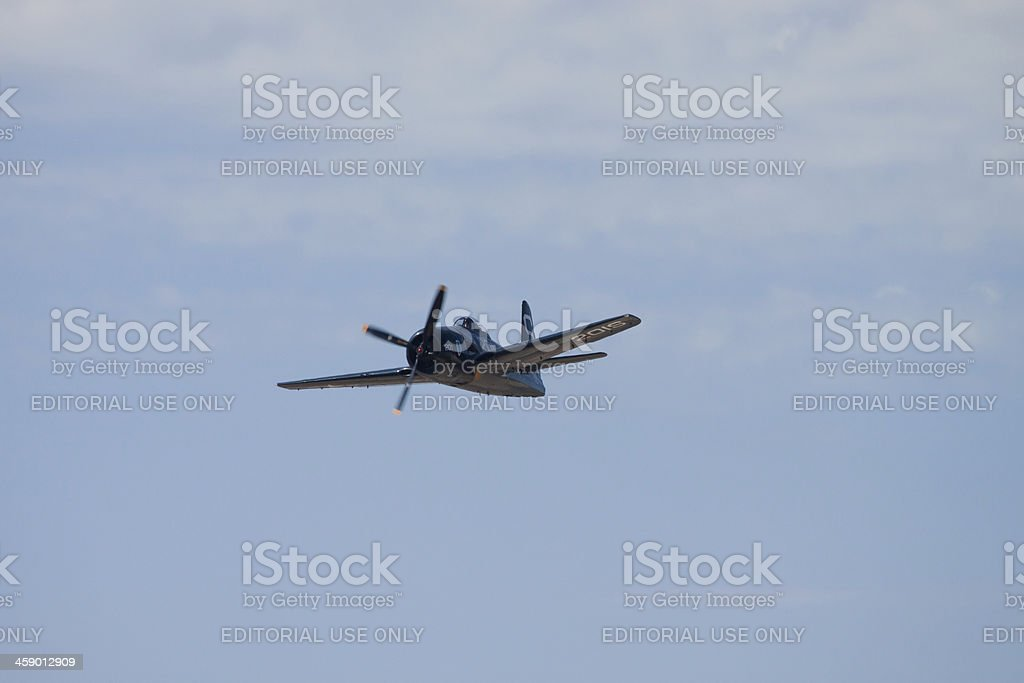 Propeller Plane royalty-free stock photo
