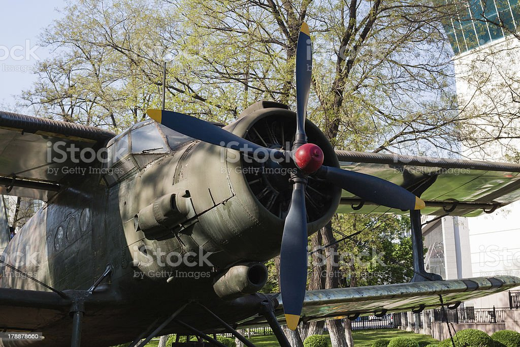 Propellers of Y-5 Aircraft royalty-free stock photo