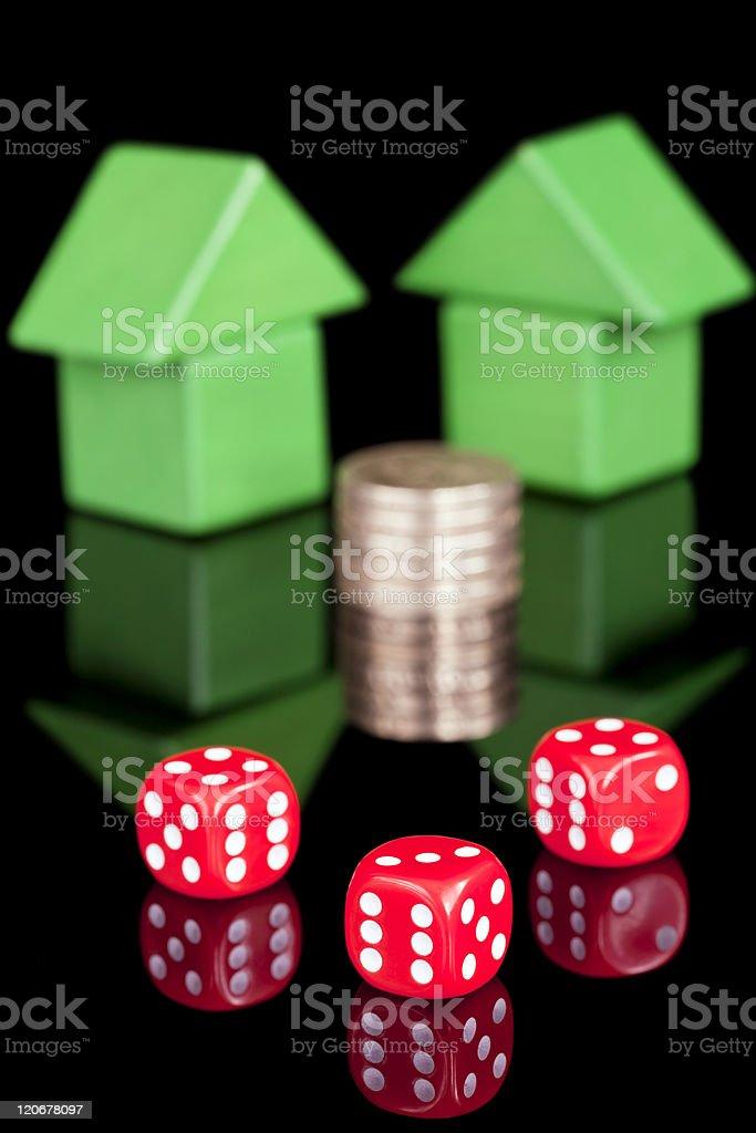 Property chance royalty-free stock photo