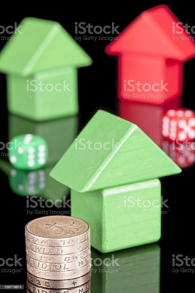 Property chance stock photo