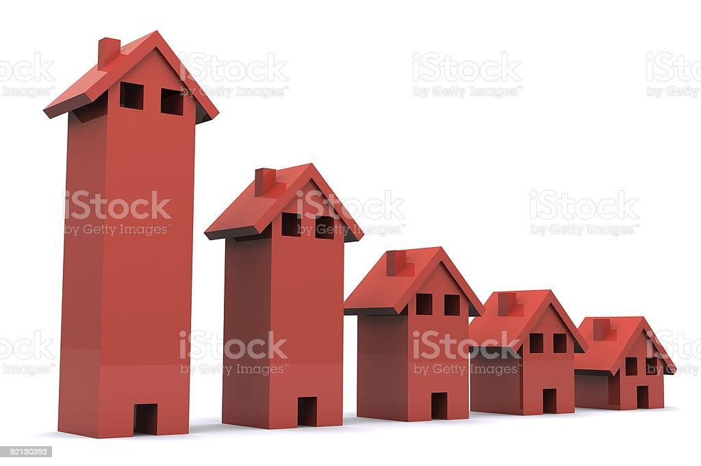 Property Falling stock photo