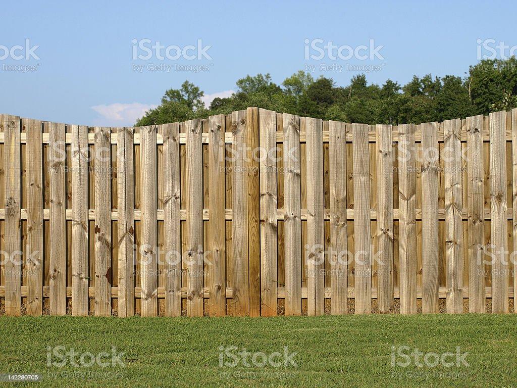 Property Fence royalty-free stock photo
