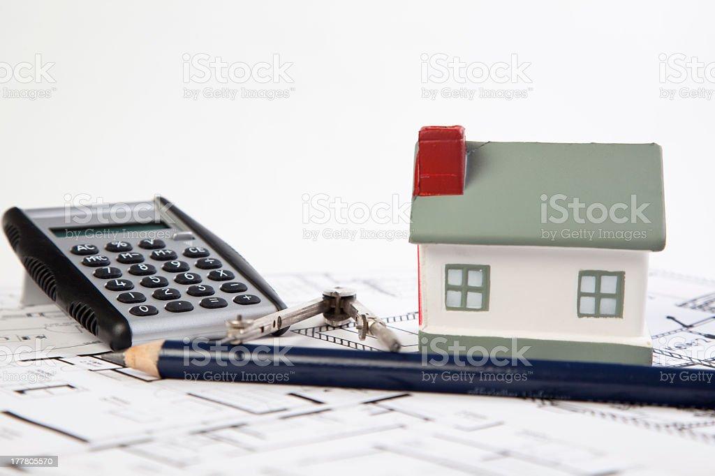 property finance stock photo