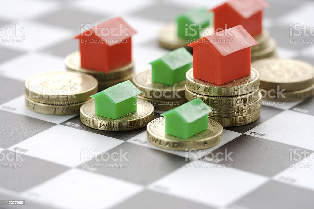 Property game royalty-free stock photo