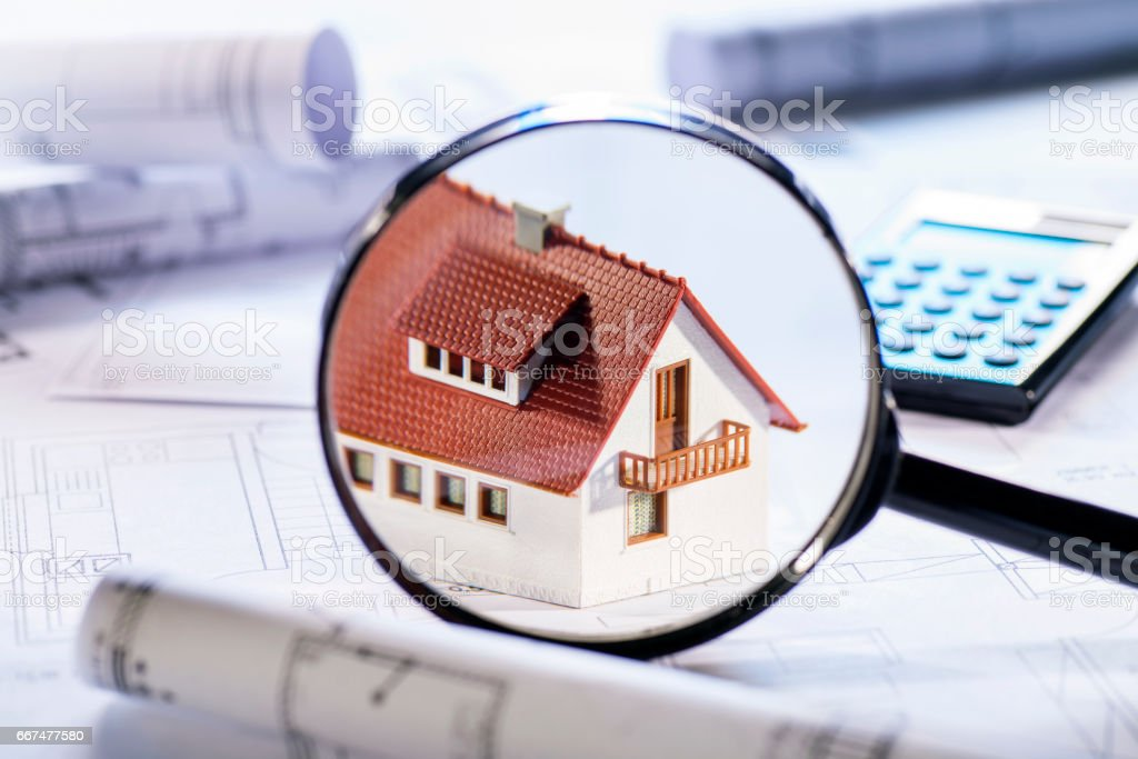 Property in Focus stock photo