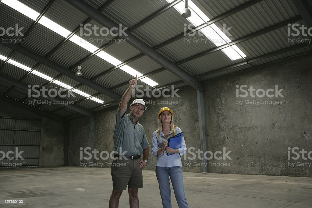 Property Inspection royalty-free stock photo