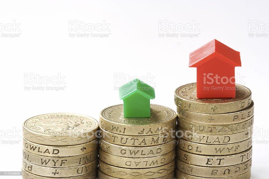 Property ladder royalty-free stock photo