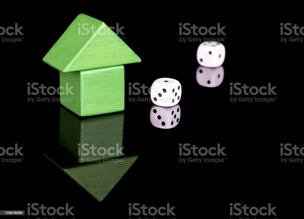 Property Luck stock photo