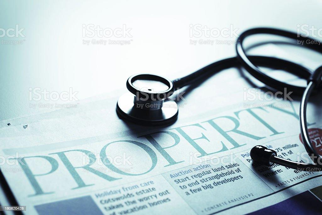 Property Market Diagnosis stock photo