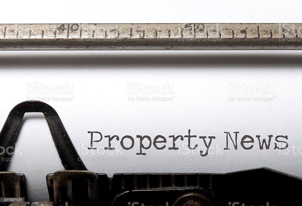 Property News stock photo