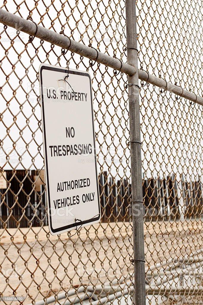 U.S. Property royalty-free stock photo