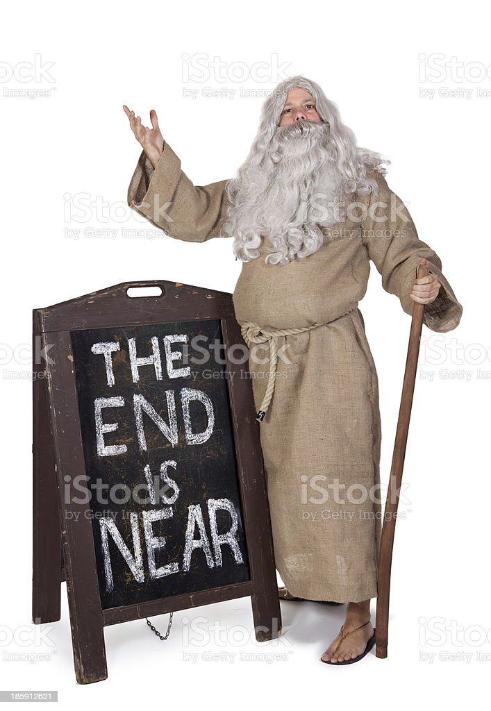 Prophet royalty-free stock photo