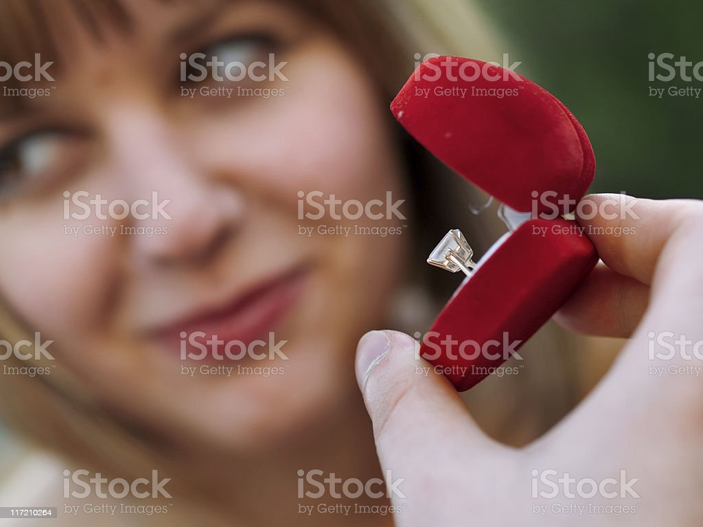 Proposal royalty-free stock photo
