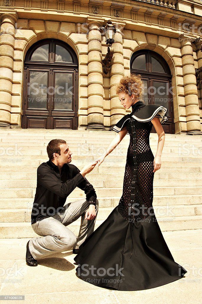Proposal stock photo