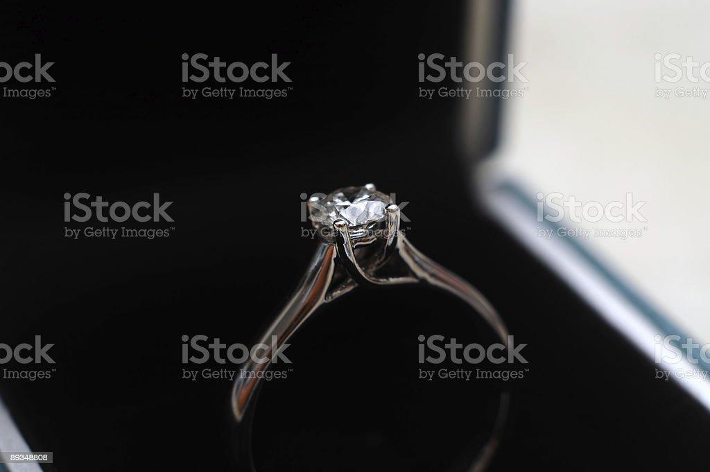 Proposal Ring royalty-free stock photo