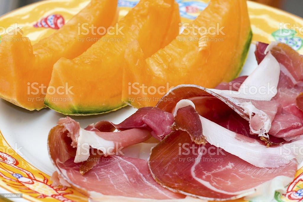 Prosciutto di Parma-Schinken und Melone – Foto
