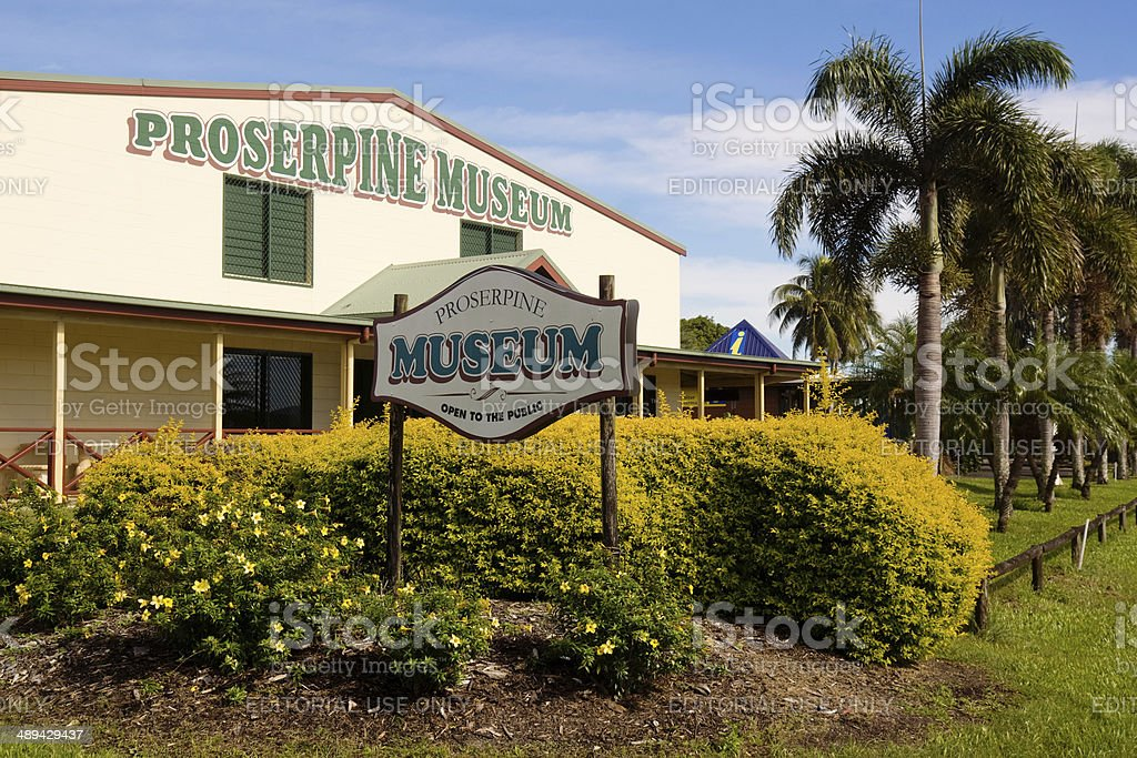 Proserpine Historical Museum stock photo
